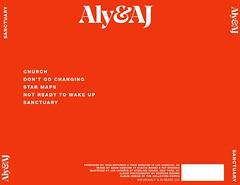 Aly & AJ Sanctuary Back CD (singitmothadesigns) Tags: alyandaj sanctuary albumcover albumart albumartwork albumbacking alyaj vinylmockup cdmockup mockup digitalbooket