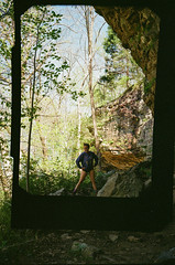 ivy in nature (carmen_canedo) Tags: 35mm minolta portrait sewanee tennessee hiking nature