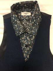 New Shirt with the Waistcoat I got in York on the last trip (blackthorne56) Tags: thief strawberry morris william london liberty
