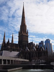 St. Patrick's Cathedral (procrast8) Tags: melbourne vic victoria australia saint patrick church cathedral central tower casselden place telstra corporate centre