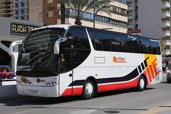 A 0606 DV, Calle Gerona, March 22nd 2018 (Southsea_Matt) Tags: a0606dv martinez callegerona benidorm spain march 2018 spring canon 80d bus omnibus coach passengertravel publictransport vehicle