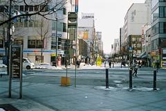 Kaimono Park in Asahikawa (しまむー) Tags: minolta himatic e rokkor 40mm f17 kodak gold 200 北海道・東日本パス 特急 hokkaido jr express