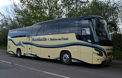 Marshalls of Sutton on Trent Ltd VDL Futura HD Coach PM64 JAM (5asideHero) Tags: marshalls sutton trent ltd lincoln city fc vdl futura hd pm64jam