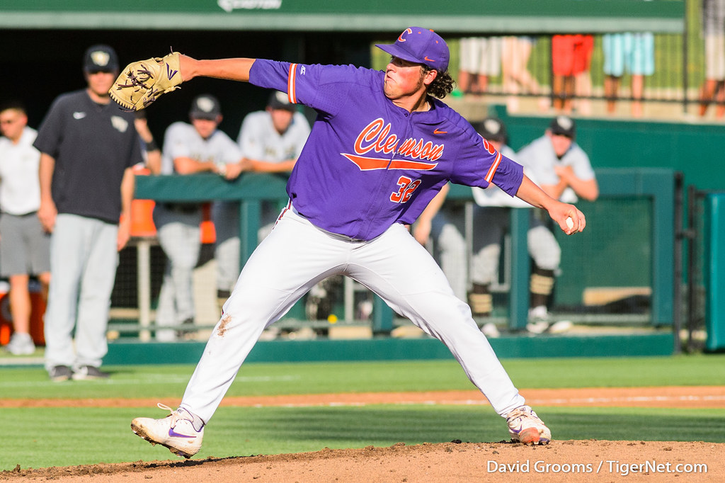 Clemson Photos: Jacob  Hennessy, 2019, Baseball