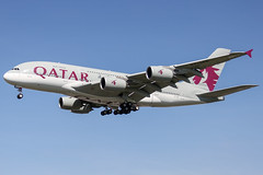 Qatar Airways (maidensphotography) Tags: airport airways airbus a380 airlines airline aircraft aviation airliners heathrow planespotter planespotting canon camera canon7d uk london