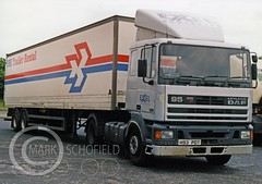 H93PDT LEYLAND DAF 95 330 (Mark Schofield @ JB Schofield) Tags: taylor transport road commercial vehicle lorry truck wagon tipper tanker artic eight wheeler haulage contractor bulk haulier tractor unit freight hgv lgv daf 95 85 leyland xf
