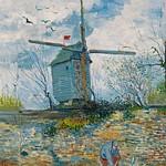 1886 Van Gogh  Le Moulin de La Galette(private collection)ultra HD thumbnail