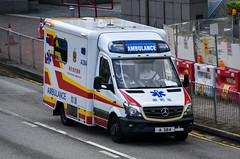 Hong Kong Fire Services Department Mercedes-Benz Sprinter 516CDI Ambulance (nighteye) Tags: hongkongfireservicesdepartment mercedesbenz sprinter 516cdi ambulance a384 hongkong