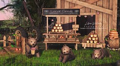 At The Break Of Dawn, The Bears Are Having A Feast (N.O.X) Tags: dawn bears honey sweet farm sl