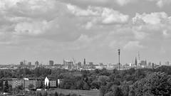 From a Distance (Maike B) Tags: fromadistance hamburg skyline georgswerder energieberg horizont monochrome