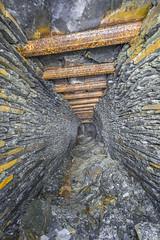 Poutrel 2 (AnotherStepAway) Tags: underground exploring exploration ue urban urbex abandoned forgotten industry lightning industrial ore lightpainting darkness dark below adventure flashlight