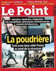 Le Point No.2435 - 2 mai 2019 (J. Trempe 3,950 K hits - Merci-Thanks) Tags: magazine revue couevertrure cover front page prime deluxe