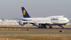 Boeing 747-430 D-ABVP Lufthansa (William Musculus) Tags: plane spotting aviation airplane fraport frankfurt am main rhein frankfurtmain airport flughafen fra eddf william musculus dabvp lufthansa boeing 747430 lh dlh 747400