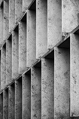 ETHZ (LG_92) Tags: switzerland schweiz zürich architecture contemporary buildings 2019 may nikon dslr d3100 monochrome blackandwhite blackwhite bw bibliothek library facade stone