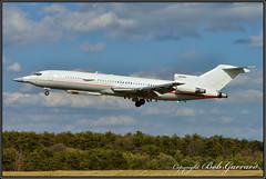 """N289MT  Raytheon Flight Test Operations """"Voodoo One"""" (Bob Garrard) Tags: n289mt raytheon flight test operations voodooone boeing 727 n710aa american airlines bwi kbwi"""