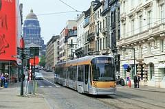 T3056 93 barré (brossel 8260) Tags: belgique bruxelles stib tram bombardier flexity