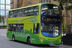 NK62 CJE, Newgate Street, Newcastle, September 5th 2016 (Southsea_Matt) Tags: nk62ckc 6063 route21 wright eclipse gemini volvo b5lh goaheadnortheast september 2016 autumn canon 60d sigma 1850mm bus omnibus vehicle transport unitedkingdom tynewear england newcastle newgatestreet angel
