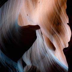 In Canyons 336 (noahbw) Tags: az antelopecanyon arizona d5000 nikon upperantelopecanyon abstract canyon desert erosion light lines natural noahbw rock shadow slotcanyon spring square stone