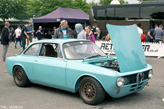 Retro Rides Weekender 2019 - Goodwood Motor Circuit - 1971 Alfa Romeo GT Junior 1300 (the_munkeh) Tags: retro rides weekender 2019 goodwood motor circuit rrw19 retroridesweekender custom classic car show track alfa romeo 1971 1300 gt