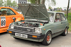 Retro Rides Weekender 2019 - Goodwood Motor Circuit - Toyota Starlet (the_munkeh) Tags: retro rides weekender 2019 goodwood motor circuit rrw19 retroridesweekender custom classic car show track toyota starlet