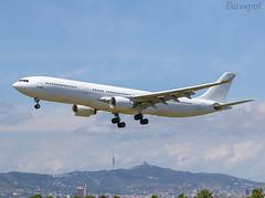 9H-AGU Airbus A330 Hi Fly (@Eurospot) Tags: 9hagu airbus a330 a330300 hifly lebl barcelona
