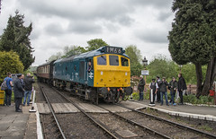 25185 Arriving Hampton Lode (Octopus P Scott) Tags: 25185 d7535 severnvalleyrailway diesel gala svr trains 2019 british rail