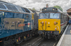 50031 at Bewdley, alongside 47749 (Octopus P Scott) Tags: 50031 47076 47749 severnvalleyrailway diesel gala svr trains 2019 british rail