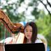 sophia playing harp at clc 8-5-18
