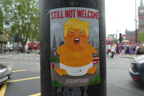 Still not welcome