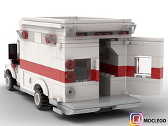 Ambulance (numerikart) Tags: ambulance emergency legocity lego legominigifs legobuiding legotrain moclego moc afol alof