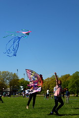 Beautiful and High 21 (Abbie Stoner) Tags: girl woman kite portrait redhead park outside