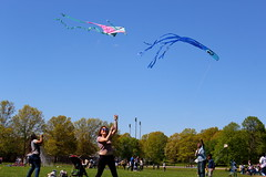 Beautiful and High 23 (Abbie Stoner) Tags: girl woman kite portrait redhead park outside