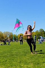 Beautiful and High 25 (Abbie Stoner) Tags: girl woman kite portrait redhead park outside
