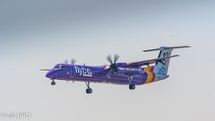 G-JEDP - Bombardier Dash 8 Q400 (safc1965) Tags: gjedp flybe dash8 east midlands airport aircraft turboprop