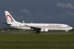 CN-ROK AMS 25.04.2019 (Benjamin Schudel) Tags: cnrok ram royal air boeing 737800 maroc ams amsterdam international eham airport netherlands