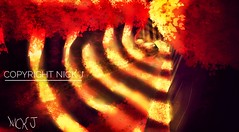 """Autumn"" a drawing by Nick J (iliveforplay) Tags: autumn otoño digitalart dibujodigital warmcolours afternoon tardes atardecer"