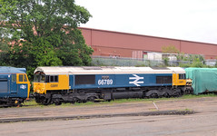66789 (R~P~M) Tags: train railway diesel locomotive 66 gbrf gbrailfreight kidderminster worcs worcestershire depot severnvalleyrailway england uk unitedkingdom greatbritain