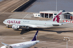 QATAR AIRWAYS CARGO B777-F A7-BFO 006 (A.S. Kevin N.V.M.M. Chung) Tags: aviation aircraft aeroplane airport airlines plane spotting boeing b777 b777f mfm macauinternationalairport qatar cargo taxiway apron
