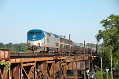 Fulton Yards (TolgaEastCoast) Tags: amtrak train richmond rivanna sub passenger p066 northeast regional virginia p42dc 186