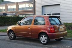 2000 Nissan Micra 1.3i Aztek (NielsdeWit) Tags: nielsdewit car vehicle 88gdjg nissan micra ede 13 13i aztek