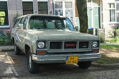 1973 Chevrolet Suburban (NielsdeWit) Tags: nielsdewit car vehicle 66dfrg arnhem chevrolet suburban 1973 gmc