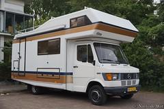 1986 Mercedes-Benz 410 Kampeerauto (NielsdeWit) Tags: nielsdewit car vehicle ny52hj mercedes mercedesbenz tn t1 410 kampeerauto 1985 amsterdam