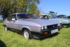 Ford Capri 2.8 Injection A202LVF (Andrew 2.8i) Tags: kingdom united uk evesham show meet club international cci sports sportscar classic classics car cars capri ford coupe hatch hatchback mark 3 iii mk mk3 v6 2800 cologne injection 28 euro european fordofgermany
