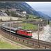 Re4/4 auf der Gotthardroute, 03.April 2007