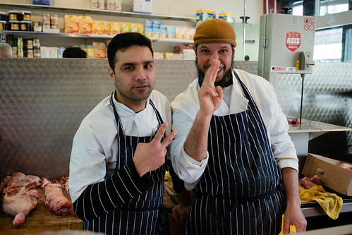 """Butchers in Notting Hill Gate, London • <a style=""""font-size:0.8em;"""" href=""""http://www.flickr.com/photos/22350928@N02/33553454338/"""" target=""""_blank"""">View on Flickr</a>"""
