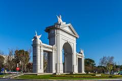 Puerta de San Vicente (Matthew Warner) Tags: matthewwarner spring nikon d7100 jerrybennett puertadesanvicente spain nikond7100 nikkor europe 2019 madrid