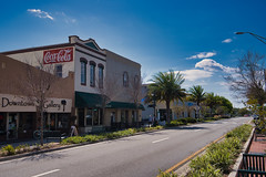 Downtown Titusville, Florida (Pete Zarria) Tags: us 1 tourist atlantic ocean snow bird sun sand fun