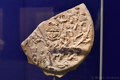 Shield of Athena Parthenos Replica Fragment (Bri_J) Tags: britishmuseum london uk museum historymuseum nikon d7500 shield athenaparthenos replica fragment marble ancientgreece battle amazons greekart phidias pericles