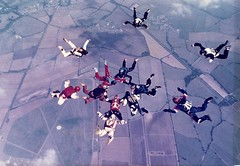 Royal Air Force Sport Parachute Association (RAF SPA) Weston On The Green Scrambles Meet Early 1980's (David's World 2011) Tags: royal air force sport parachute association raf spa weston on the green scrambles meet early 1980s rnrmspa