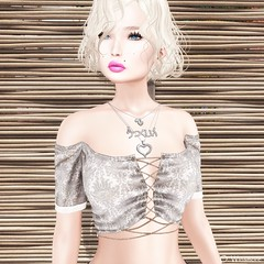 That's The Way It is (Ombrebleue Winsmore) Tags: sissboom top shirt casual fashion couture mandala jewels necklace formanails bento nails lelutka mesh head maitreya body glamaffair applier lumipro spot light